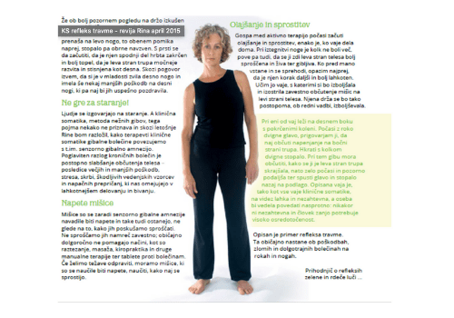 Klinična somatika, refleks travme